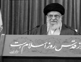 ifmat - Supreme Leader continues to Meddle in Palestinian affairs under the banner of Quds Day