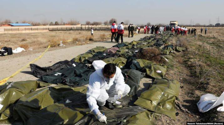 ifmat - Ukraine says sthose responsible in Iran for downing its airliner must face Justice