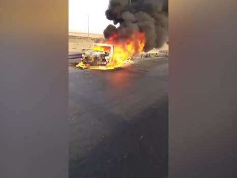 ifmat - Afghans condemn Iran police after refugees die in car fire
