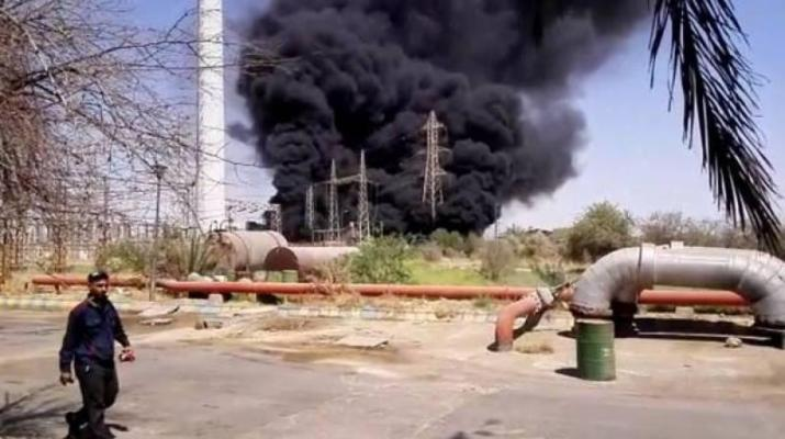 ifmat - Explosion hits another power plant in Iran