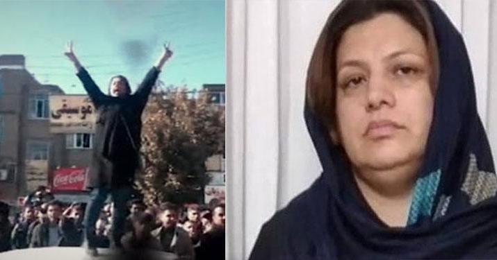 ifmat - Iran court sentences Kurd protester to prison and lashes