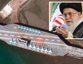 ifmat - Iran uses new satellite to track war games in Strait of Hormuz
