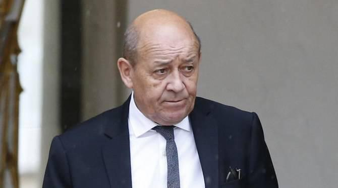 ifmat - France concerned about Iran destabilizing activities says FM Le Drian