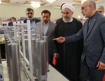 ifmat - Iran says takes big steps to boost uranium enrichment capacity