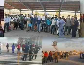 ifmat - Iran workers striking on Monday