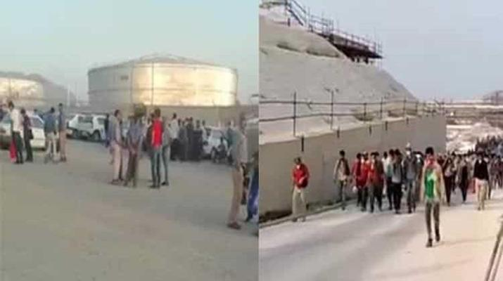 ifmat - Oil Workers in Iran on Strike