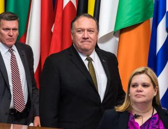 ifmat - Pompeo Makes no sense for any european country to support the Iranians being able to have arms