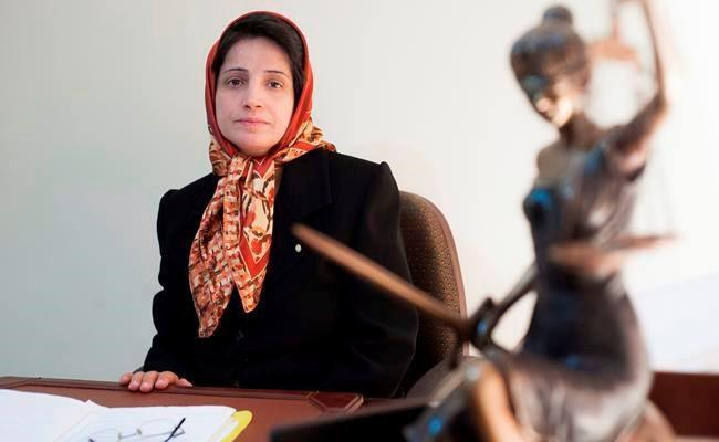 ifmat - Canadian lawyers demand freedom for ailing hunger-striking Nasrin Sotoudeh