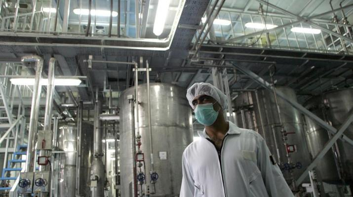 ifmat - Iran building new production hall for centrifuges in mountains near Natanz