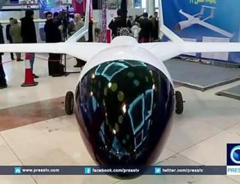 ifmat - Iran showcases drone power in IRGC ceremony - video