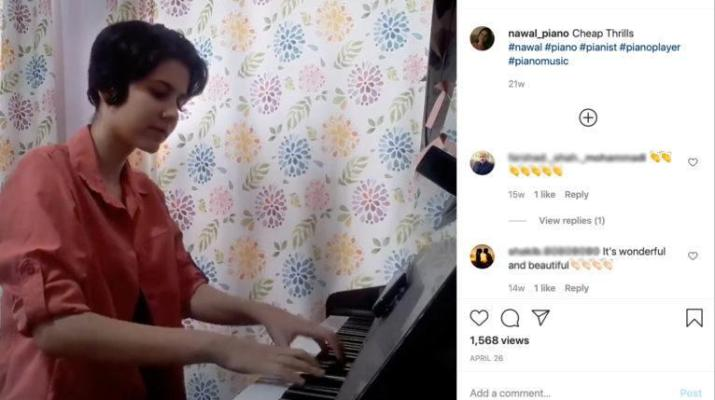 ifmat - Iranian agents confiscated a girl piano for playing Beethoven on Instagram
