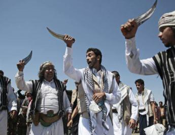 ifmat - Death to Israel - shouts Iranian proxy in Yemen during prisoner swap