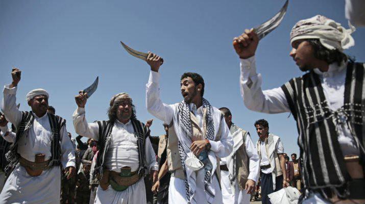ifmat - Death to Israel - shouts Iranian proxy in Yemen during prisoner swap