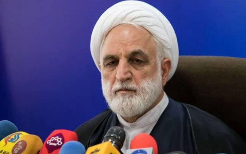 ifmat - Gholam-Hossein Mohseni-Ejei the judiciary deputy