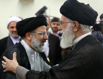 ifmat - Iran Judicial security document and Ebrahim Raisi gesture