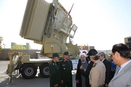 ifmat - Iran successfully launches homegrown missile defence system during military exercise