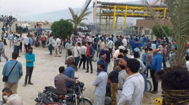 ifmat - Nine economic protests in two days in Iran