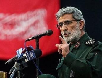 ifmat - Iran commander of Quds Force visits Baghdad