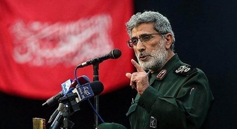 Iran commander of Quds Force visits Baghdad