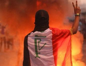 ifmat - Iraq protests challenge Iran strategic dept
