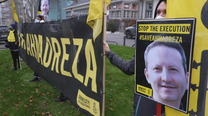 ifmat - EU must stand up for jailed Iranian scholar Ahmadreza Djalali