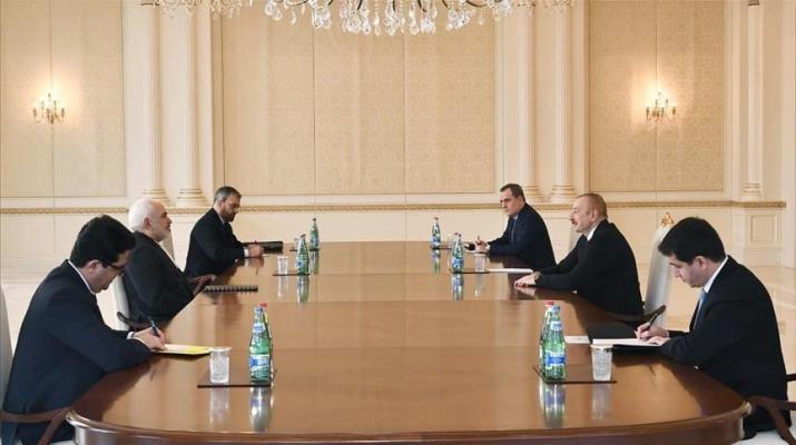 ifmat - Azerbaijani leader and top Iranian diplomat meet in Baku