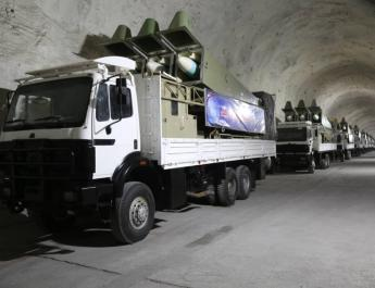 ifmat - Iran carries out missile exercises in Gulf of Oman