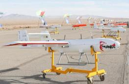 ifmat - Iran military holds first-ever drone drill 3