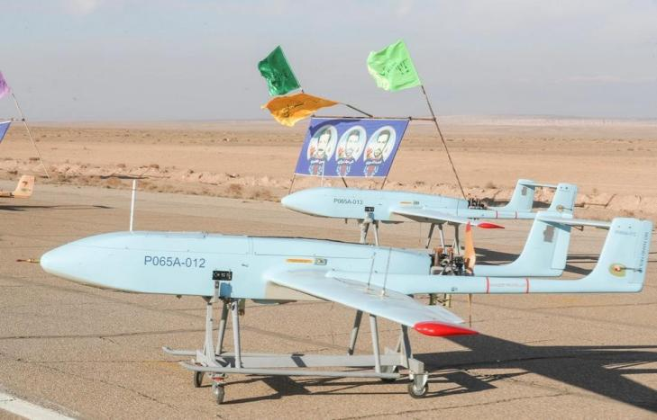 ifmat - Iran military holds first-ever drone drill