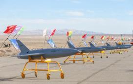 ifmat - Iran military holds first-ever drone drill1
