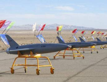 ifmat - Iran tests suicide drones amid its tense standoff with Donald Trump