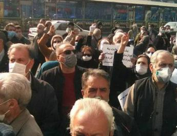 ifmat - Iranian pensioners gather in 16 cities to express economic woes in organized effort