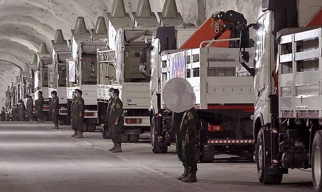 ifmat - Irans Revolutionary Guards unveils new secret underground missile base filled with anti-ship weapons 3