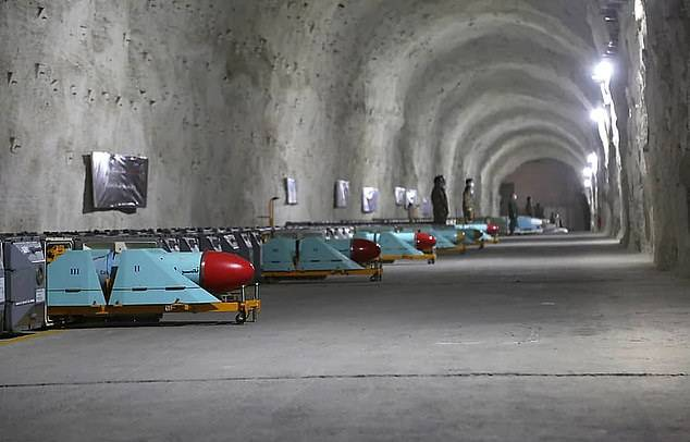 ifmat - Irans Revolutionary Guards unveils new secret underground missile base filled with anti-ship weapons 4