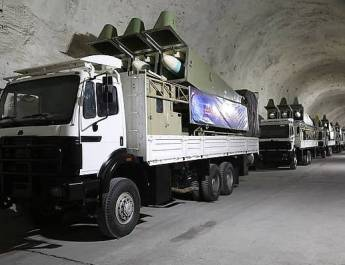 ifmat - Irans Revolutionary Guards unveils new secret underground missile base filled with anti-ship weapons