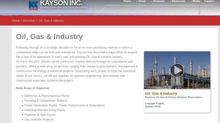 ifmat - Kayson oil Gas Industry