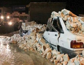 ifmat - The Sisakht earthquake and the Basti Hills of Iran officials