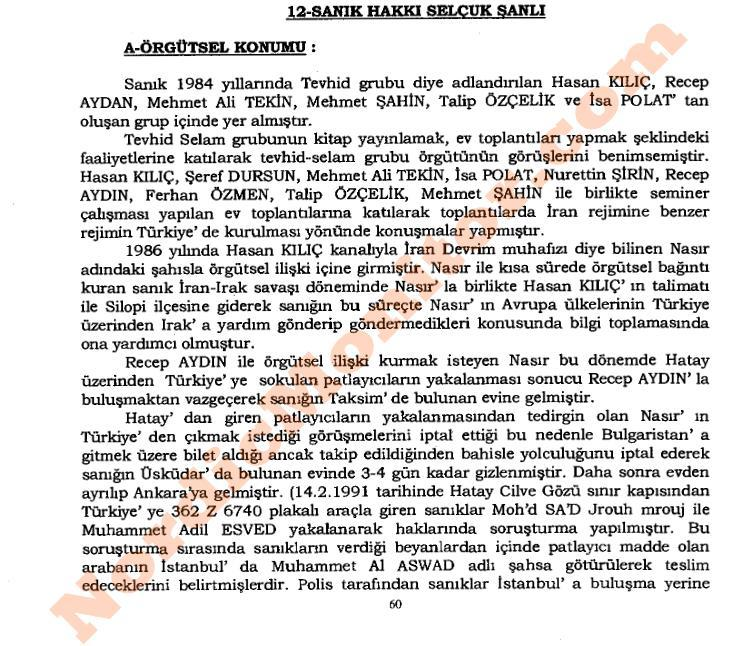 ifmat - 2001 Indictment of Hakki Selcuk Sanli explains how he was recruited by the IRGC Quds Force