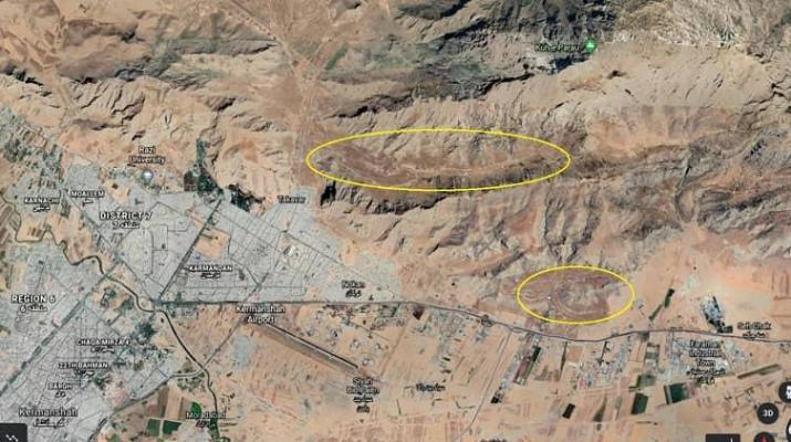 ifmat - Details on two secret ballistic missile sites in Western Iran