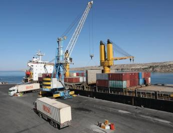 ifmat - India supplies 2nd shipment of equipment to Iran Chabahar port