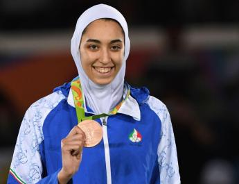 ifmat - Iran only female Olympic medalist to compete as refugee in Tokyo