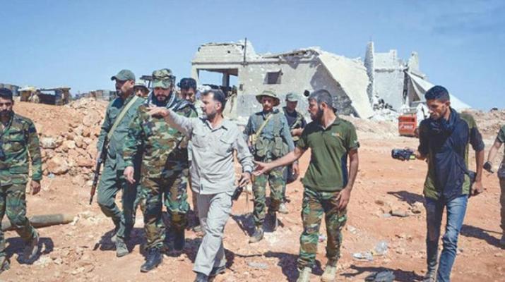 ifmat - Iranian proxy militia opens new recruitment center in Aleppo Syria