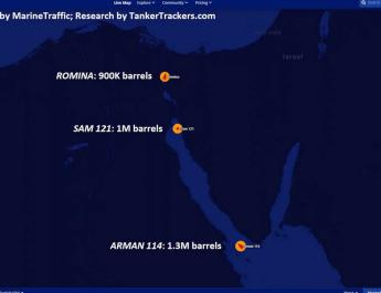 ifmat - Iran tankers with 3M barrels of crude oil head to Syria defying US sanctions