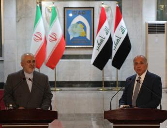 ifmat - Iranian FM arrives in Iraq on official visit