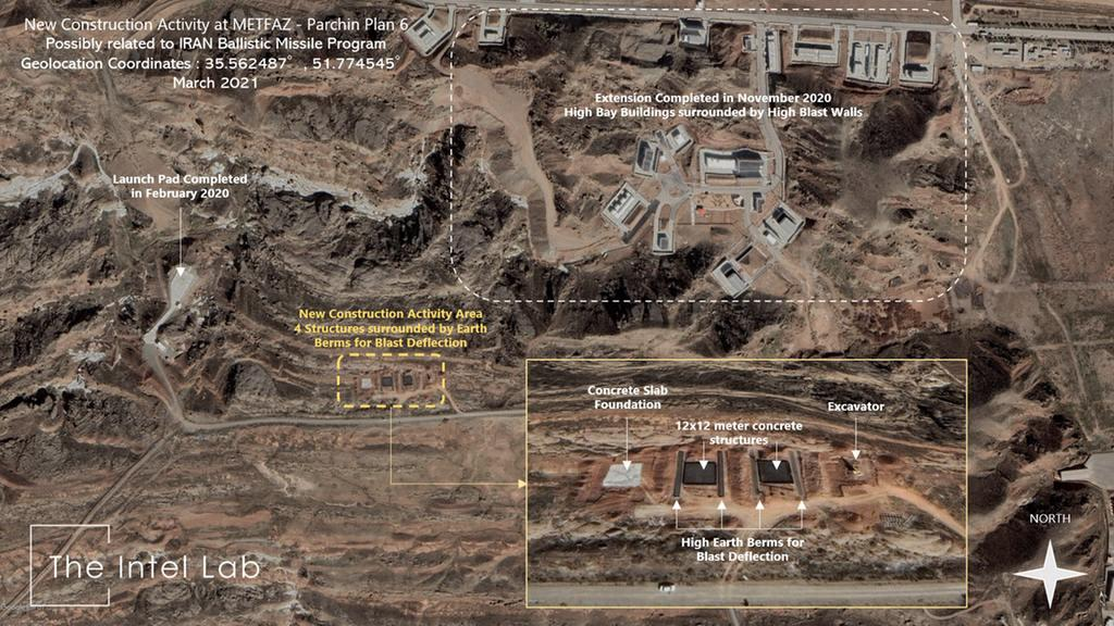 ifmat - New buildings spotted at Iran Parchin military site