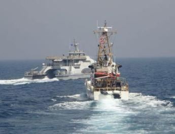ifmat - US says Iran Navy harassed Coast Guard in Persian Gulf earlier this month