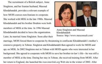 ifmat - ifmat - Airfare provided by NIAC for two Iran intel agents Massoud Khodabandeh - his wife Ann Singleton