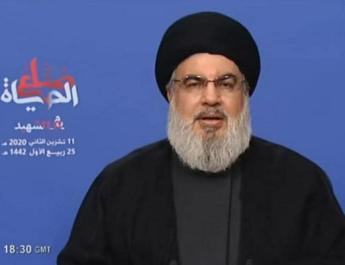 ifmat - Nasrallah says group is ready to go to Iran to seek fuel