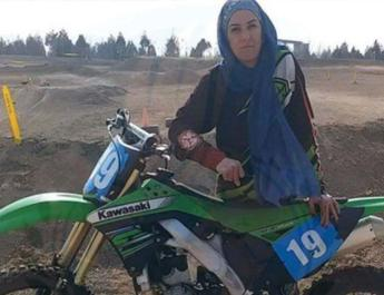 ifmat - Women motocross champion and Bahai citizen Shahrzad Nazifi sentenced to 8 Years in prison