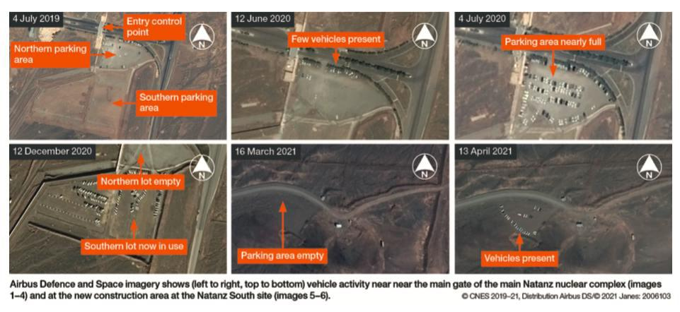 ifmat - How AI is revealing the secrets of Iran Nascent Centrifuge factory1